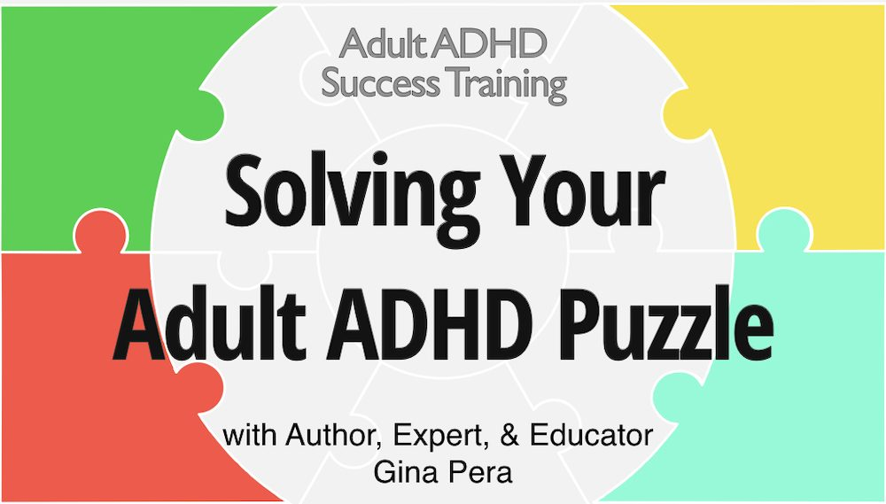 Solving Your Adult ADHD Puzzle